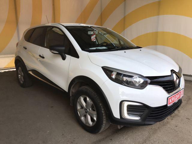 Купить б/у Renault Kaptur, 2017 год, 114 л.с. в России